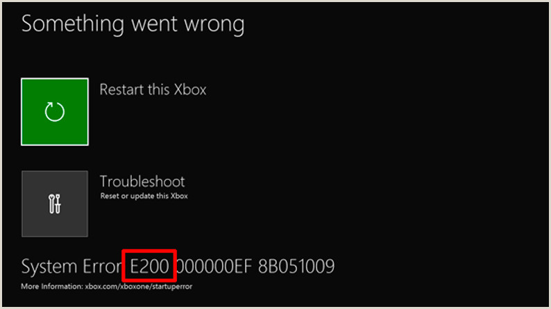 Back Of Business Cards Troubleshoot Startup Errors On Xbox
