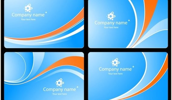 Background for Business Cards Business Card Background Design Free Vector 68 876