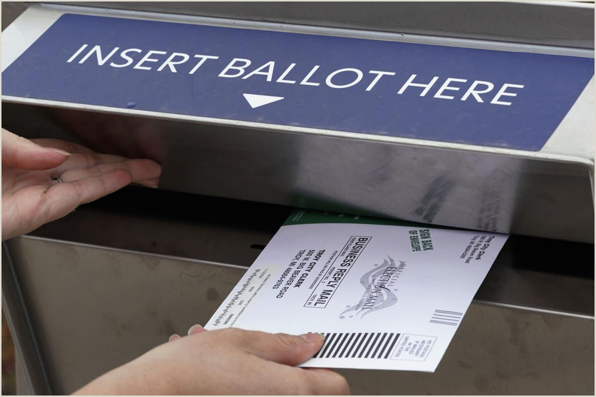 Backs Of Business Cards Millions Of Mail Ballots Not Yet Returned In Key States