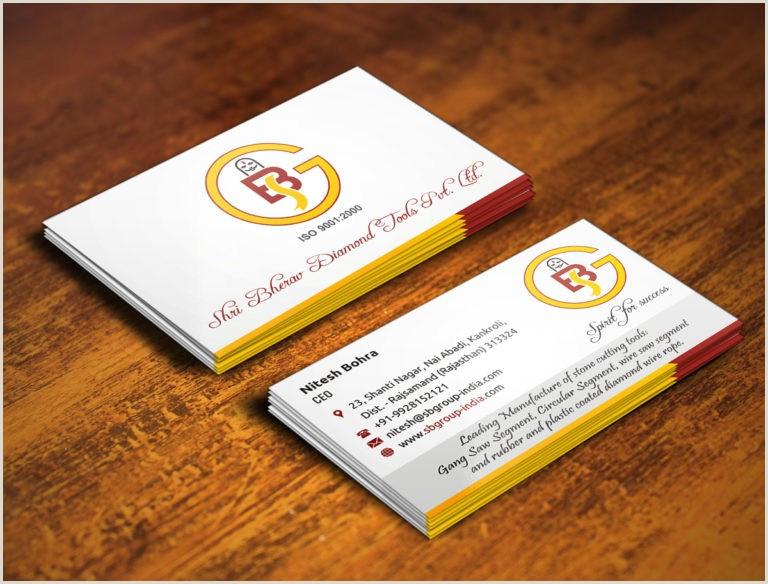Backs Of Business Cards Single Sided Versus Back To Back Visiting Card Designs
