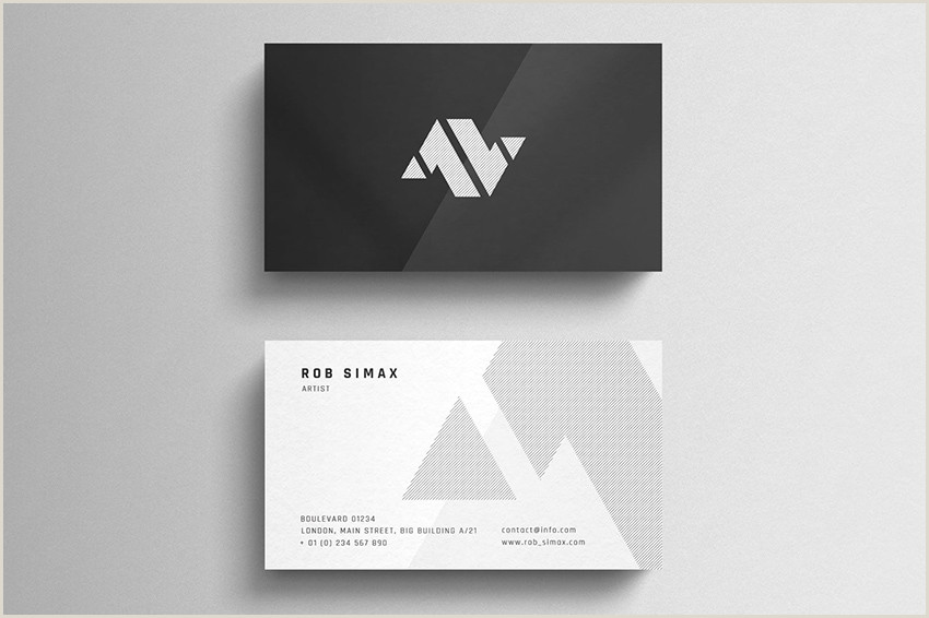 Basic Business Card Template 20 Best Business Card Design Templates Free Pro Downloads