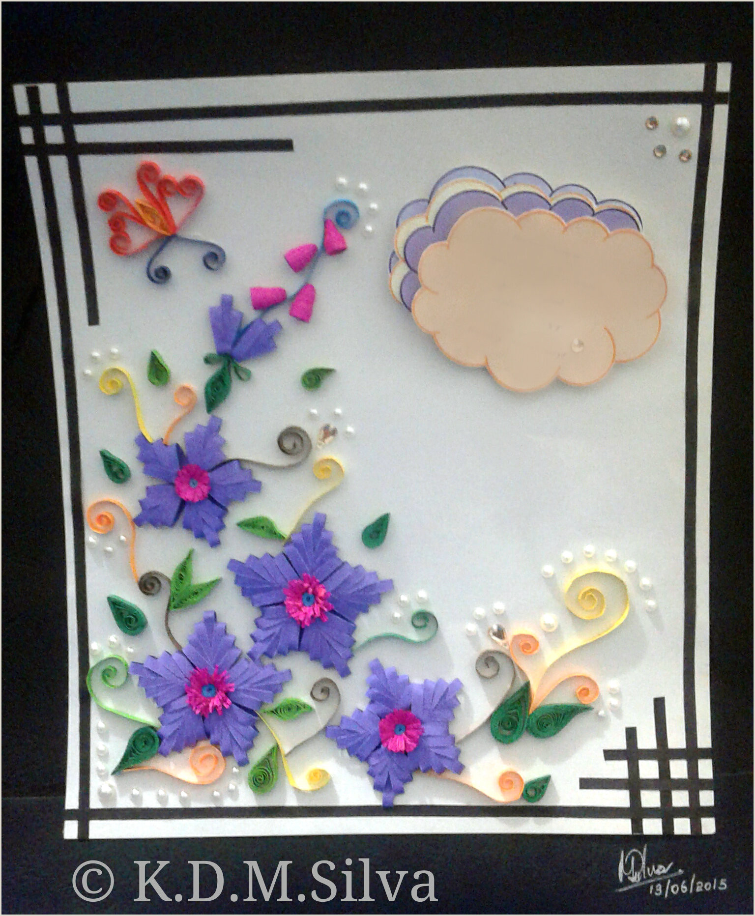 Beautiful Business Card Designs Quilling
