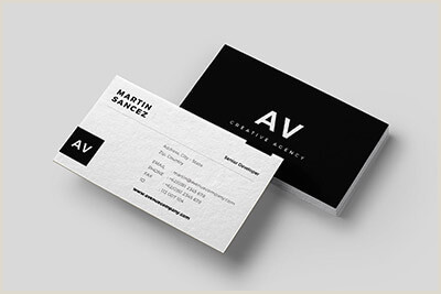 Best Affordable Business Cards 20 Best Modern Business Card Templates 2020 Word Psd