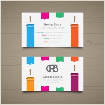 Best Artist Business Cards Free Artist Business Card