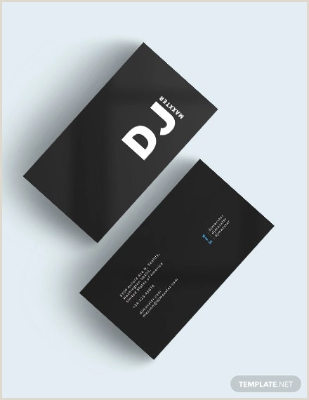 Best Black Business Cards 41 Excellent Black Business Card Templates Word Psd