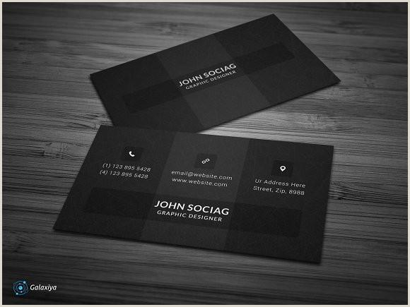 Best Black Business Cards Modern Dark Black Business Cards