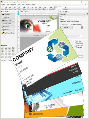 Best Business Card Design Software Business Card Designer Plus Great Business Card Software