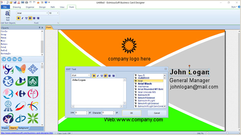 Best Business Card Designer Business Card Software Business Card Maker Make Free