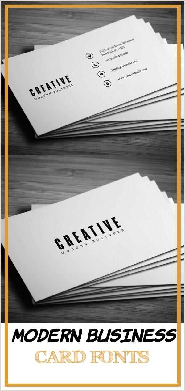 Best Business Card Fonts 2020 17 Best Modern Business Card Fonts In 2020