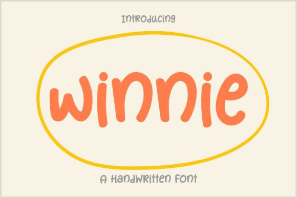 Best Business Card Fonts 2020 Winnie Font By Wanida Toffy · Creative Fabrica In 2020