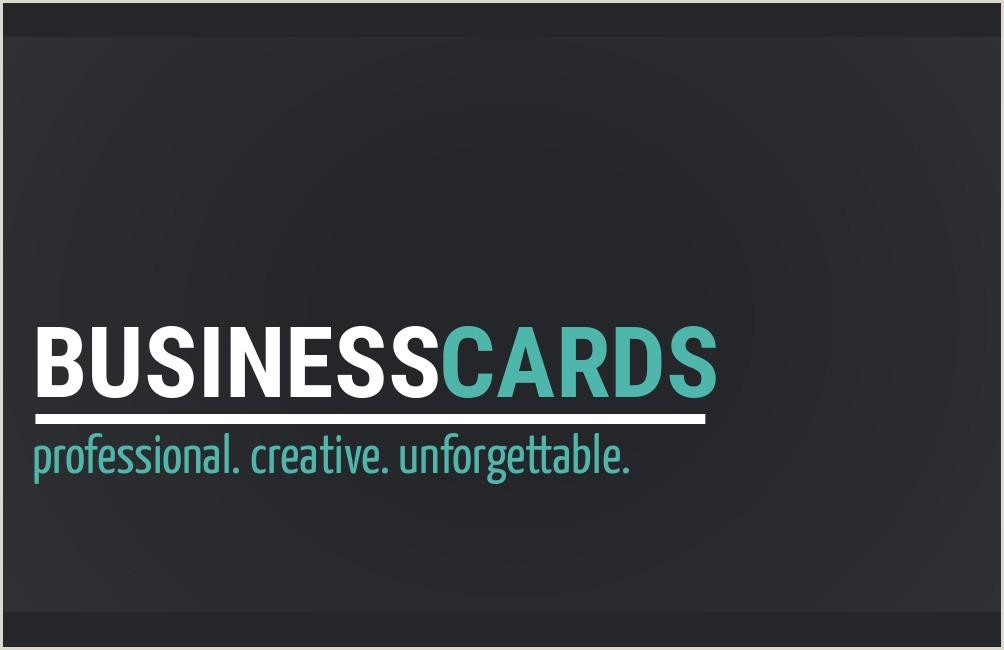 Best Business Card Ideas 20 Great Business Card Ideas Design Wizard