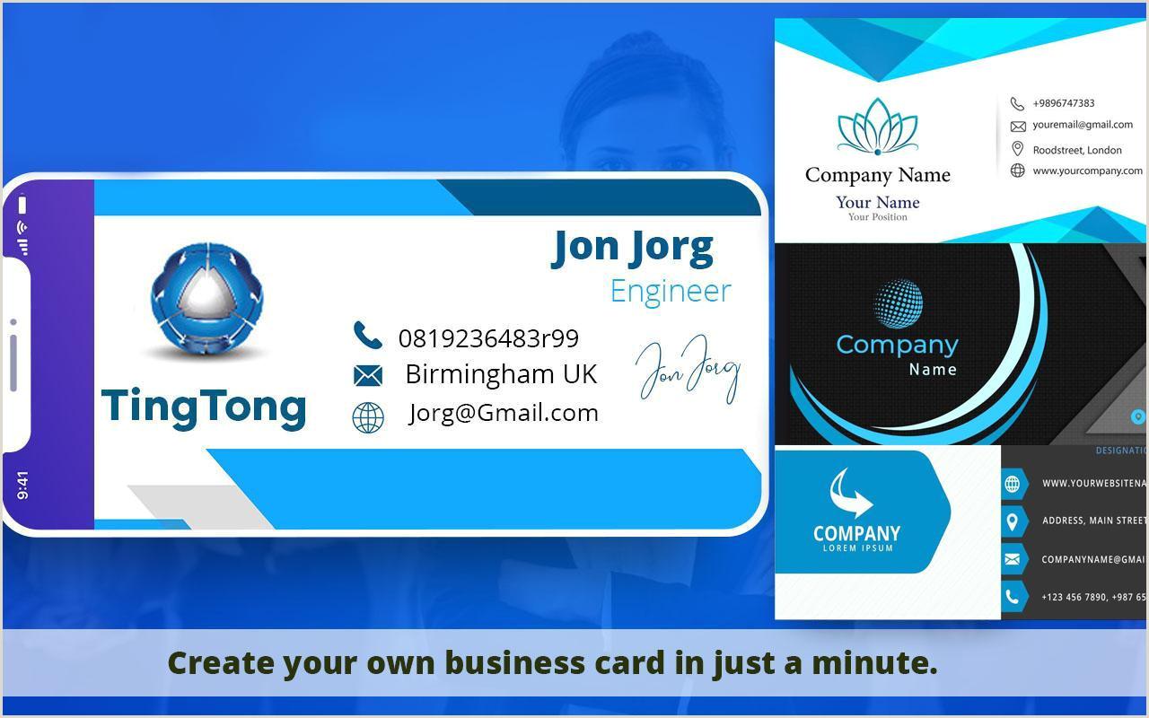 Best Business Card Maker App Digital Business Card Maker & Creator For Android Apk Download