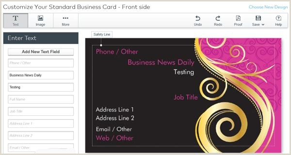 Best Business Card Printing Company The Best Line Business Card Printing Services
