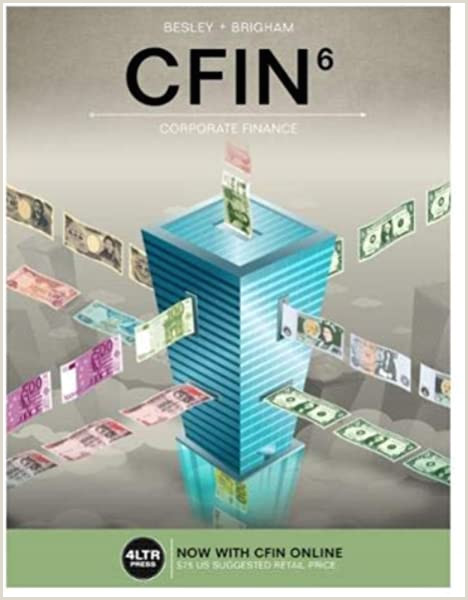 Best Business Card Printing Service Cfin With Mindtap Finance 1 Term 6 Months Printed Access