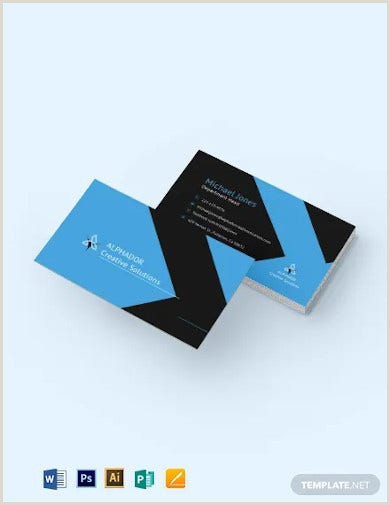 Best Business Card Template 68 Corporate Business Card Templates Indesign Ai Word
