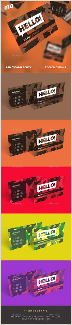 Best Business Cards Affordable 20 Top Amazing And Professional Business Card Templates