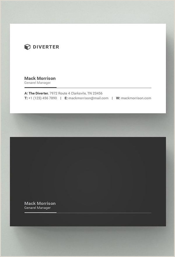 Best Business Cards Affordable 25 New Professional Business Card Templates Print Ready