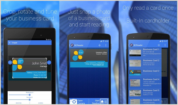 Best Business Cards App Top 7 Best Business Card Scanner Apps For Android