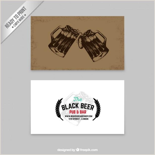 Best Business Cards Beer Opener Free Vector