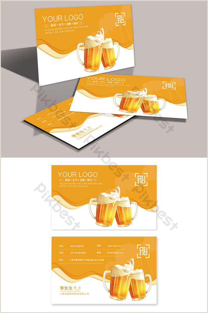 Best Business Cards Beer Opener Home Brewed Beer Draft Wholesale And Retail Store Business