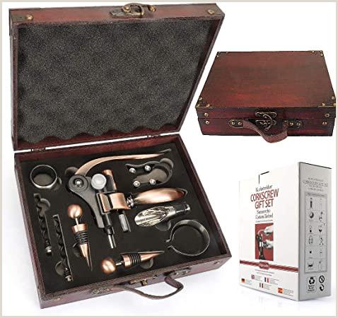 Best Business Cards Beer Opener Yobansa Antique Wooden Box Wine Accessories Gift Set Rabbit
