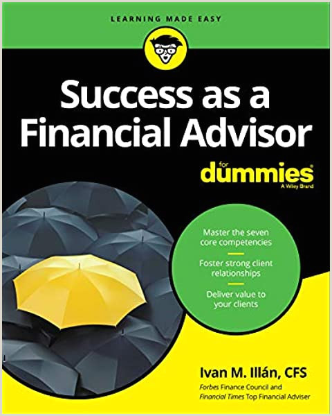 Best Business Cards Content Amazon Success As A Financial Advisor For Dummies For