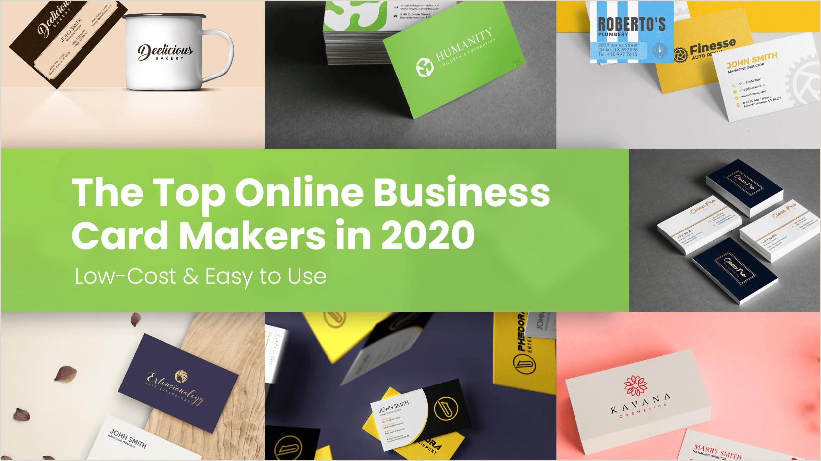 Best Business Cards Create Online The Top Line Business Card Makers In 2020 Low Cost & Easy