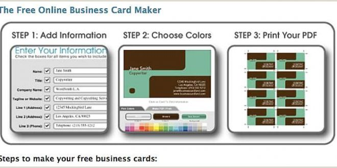Best Business Cards Creator App 10 Free Business Card Makers Templates and Tips