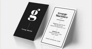 Best Business Cards Designs 2020 20 Best Modern Business Card Templates 2020 Word Psd