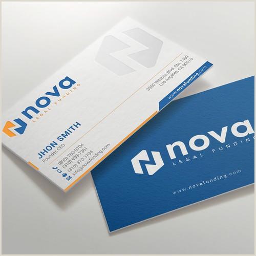 Best Business Cards Desing Design A Print Material Biz Card Letterhead Letter For