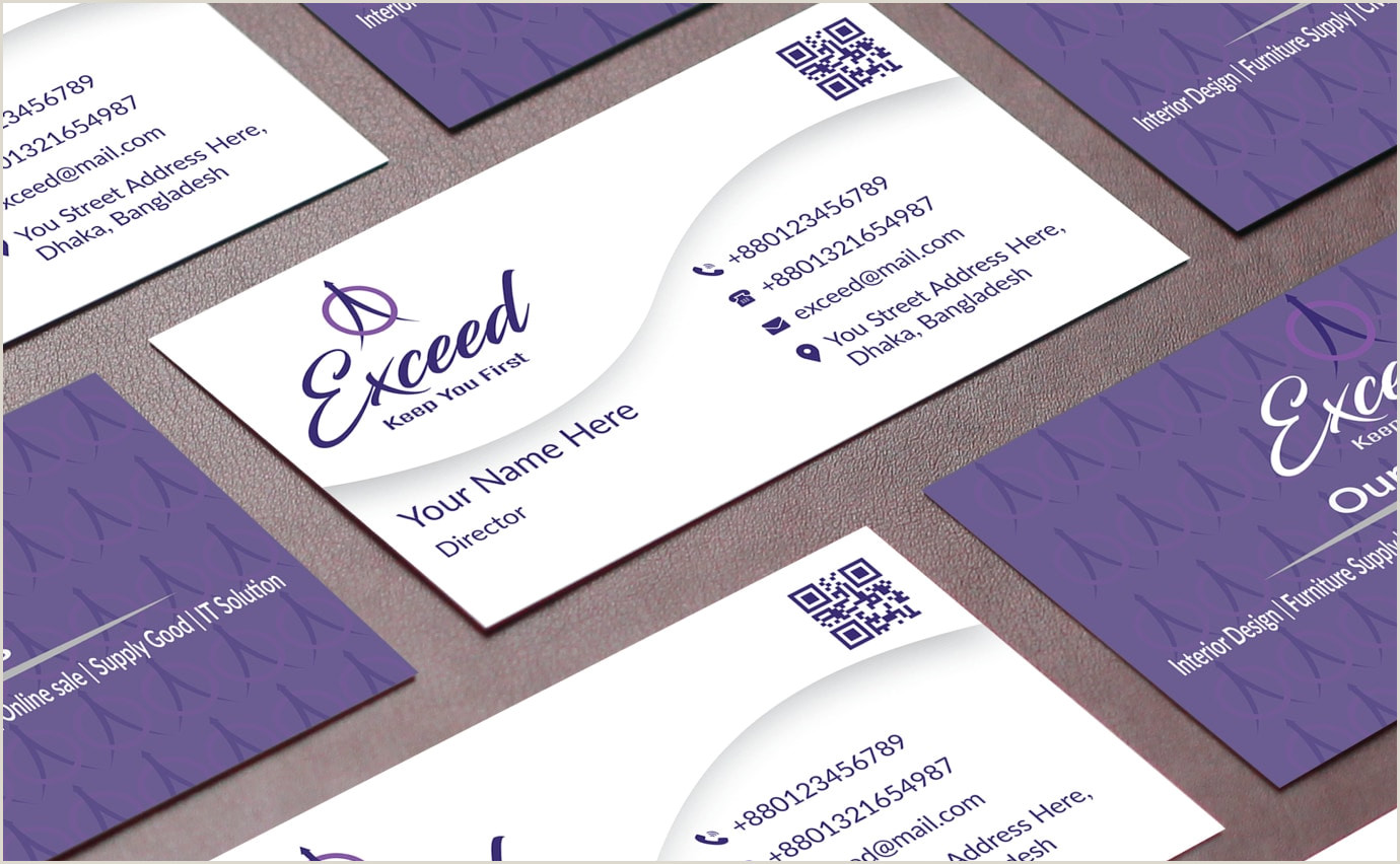 Best Business Cards Desing Do Awesome Business Card Design By Unique Concept By Khmashadul