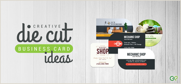Best Business Cards Finish Distinguish Your Brand With Unique Die Cut Business Cards