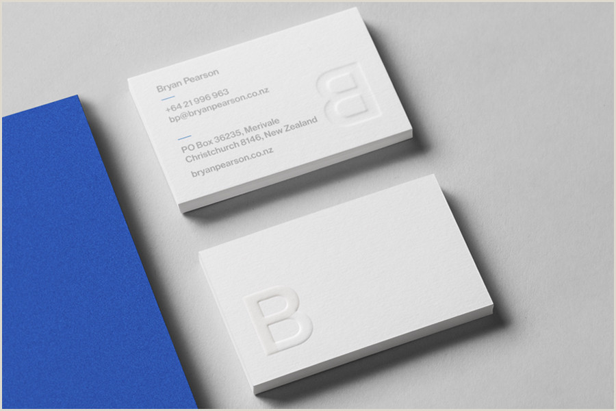 Best Business Cards Finish The Best Business Card Designs No 7 — Bp&o