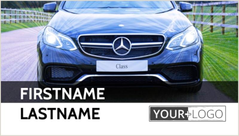 Best Business Cards For Car Salesman Luxury Auto Dealer Business Card Template