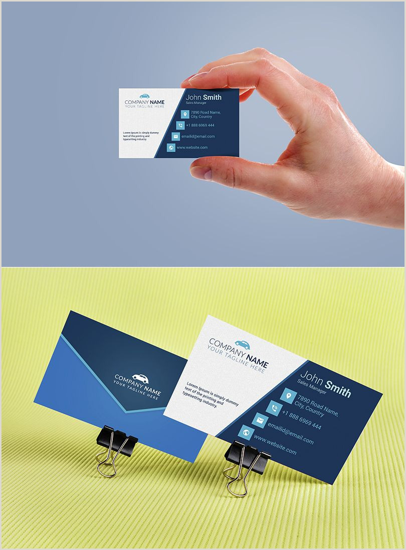 Best Business Cards For Car Salesman Pin On Psd Business Card