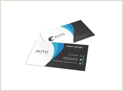 Best Business Cards For Car Salesman Used Car Dealer Business Card Template