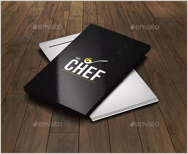 Best Business Cards For Chefs 32 Chef Business Cards Free & Premium Shop Vector