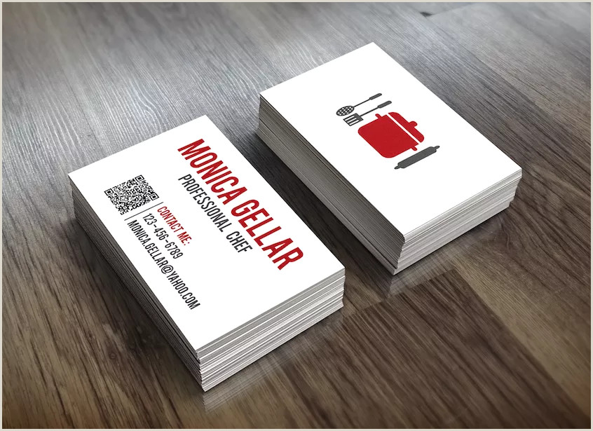 Best Business Cards For Chefs Top 25 Examples Of Professional Chef Business Cards