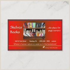 Best Business Cards For Children Book Author 100 Book Store Business Cards Ideas In 2020