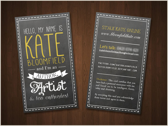 Best Business Cards For Children Book Author Free Author Business Card Templates · Adazing