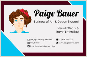 Best Business Cards For College Students 25 Awesome Business Cards Of Students Recent Grads