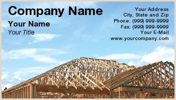 Best Business Cards For Contractors Contractors Business Cards