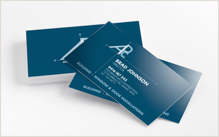 Best Business Cards For Contractors Top 28 Examples Of Unique Construction Business Cards