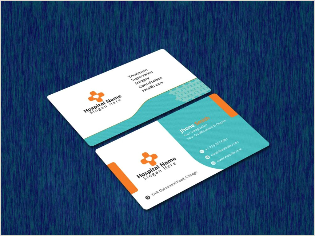 Best Business Cards For Doctor 5 Best Medical Business Cards 2020