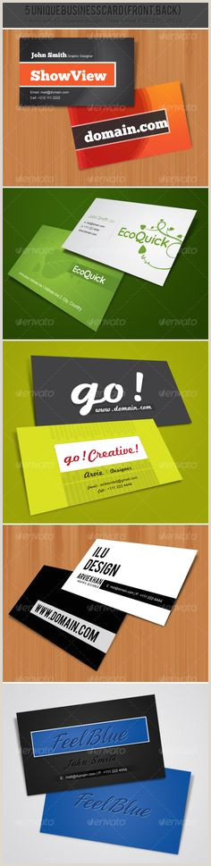 Best Business Cards For Ecommerce 500 Colorful Business Card Template Ideas