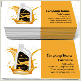 Best Business Cards For Gas ✅ Business Card Examples For Create Custom Design