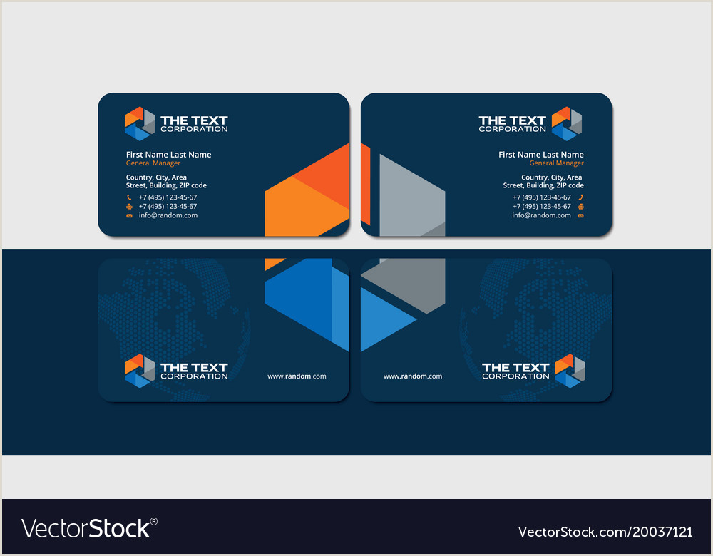 Best Business Cards For Gas Business Cards For Oil And Gas Industry
