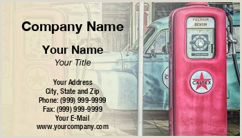 Best Business Cards For Gas Gas Business Cards