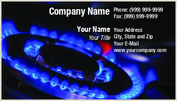 Best Business Cards For Gas Gas Services Business Cards
