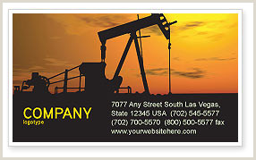 Best Business Cards For Gas Oil And Gas Business Card Templates In Microsoft Word